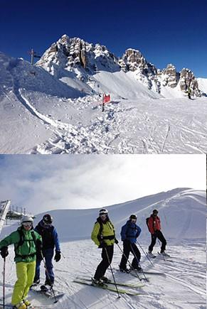 Entre neige et détente dans les Hautes-Alpes