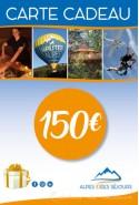 Carte cadeau Alpes idées Séjours 150€
