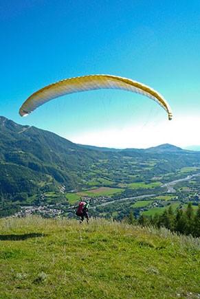 VOL EN PARAPENTE Hautes-Alpes
