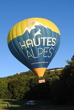 weekend montgolfière à gap dans les Hautes-Alpes avec Alpes idées séjours
