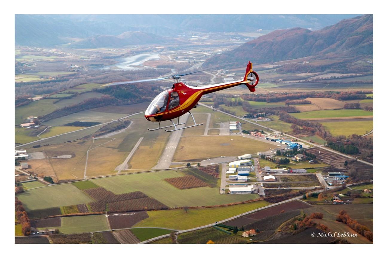 VOL INITIATION AU PILOTAGE EN HELICOPTERE