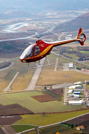 VOL INITIATION AU PILOTAGE EN HELICOPTERE
