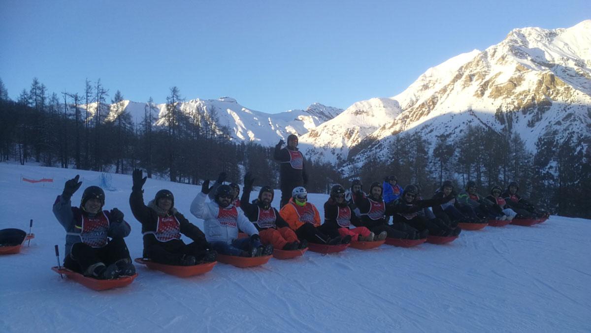 Séminaire SONEPAR dans les Hautes-Alpes avec Alpes idées Séjours