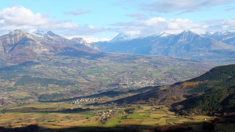 Le paysage de la Vallée du Champsaur