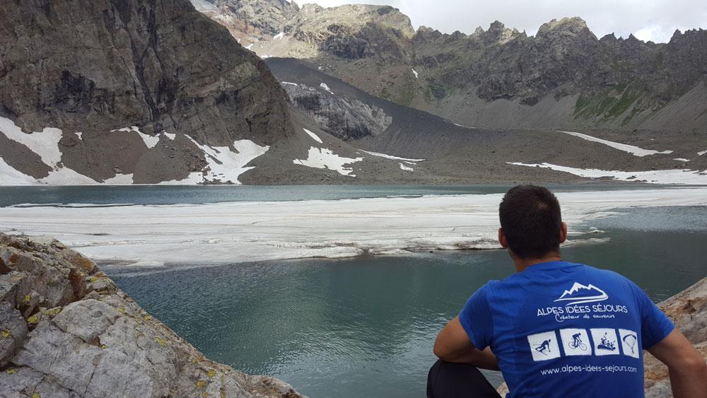 Alpes idées Séjours randonnée du lac de l'Eychada dans les Hautes-Alpes